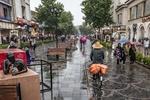هشدار هواشناسی درباره تشدید فعالیت سامانه بارشی
