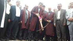 ۳ پروژه آموزشی در مناطق سیل زده گلستان کلنگ زنی شد