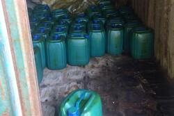 ۲۴۰۰ لیتر ماده شیمیایی قابل انفجار از بندر گناوه خارج شد