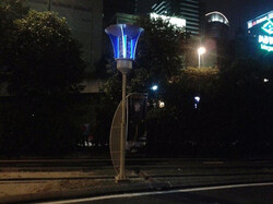 چراغ هایی که پشه ها را به دام می اندازند