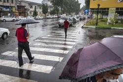 رگبار باران کرمانشاه را فرا میگیرد