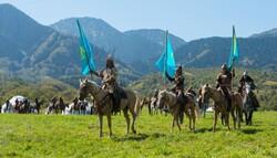 Iranian nomads attend festival in Kazakhstan