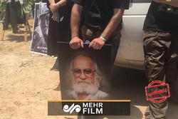 مراسم تشییع پیکر ناصر هوشمند وزیری