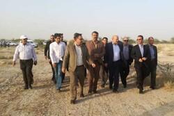 کلانتری وارد خوزستان شد/بازدید از کانون فوق بحرانی ریزگرد اهواز