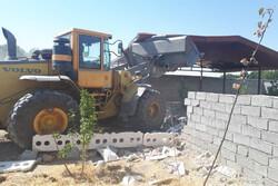 صدور دستور تخریب تک ویلای آبعلی/ویلا۱۲۰ متر مجوز بنا داشته است