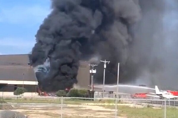 ٹیکساس میں چھوٹا طیارہ گر کر تباہ/ 10 افراد ہلاک