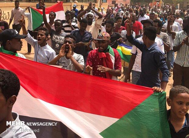 سوڈان میں متحدہ عرب امارات کے خلاف عوامی مظاہرہ