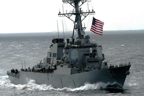 ناوشکن آمریکایی زیر ذرهبین نیروی دریایی روسیه