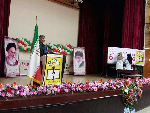 حضور بیش از ۱۲۰۰ دانش آموز کرمانشاهی در اردوهای طرح هجرت امسال