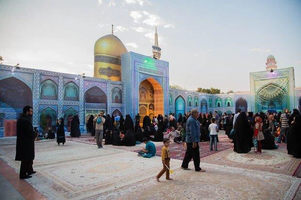 شبیهسازی صحن انقلاب حرم امام رضا (ع) در کرمانشاه
