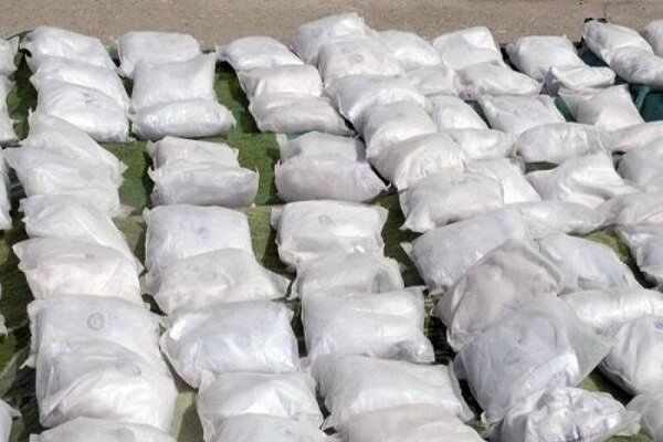 Over 5 ton of illicit drugs confiscated in SE Iran
