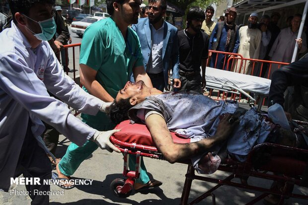 Above 100 killed, wounded in powerful blast in Kabul