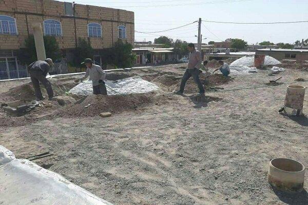 آغاز فاز دوم مرمت حمام تاریخی روستای «داق داق آباد» در کبودرآهنگ