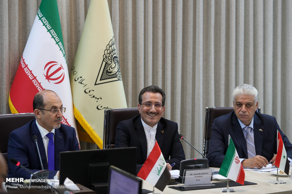 نشست روسای راه آهن های ایران ، سوریه و عراق