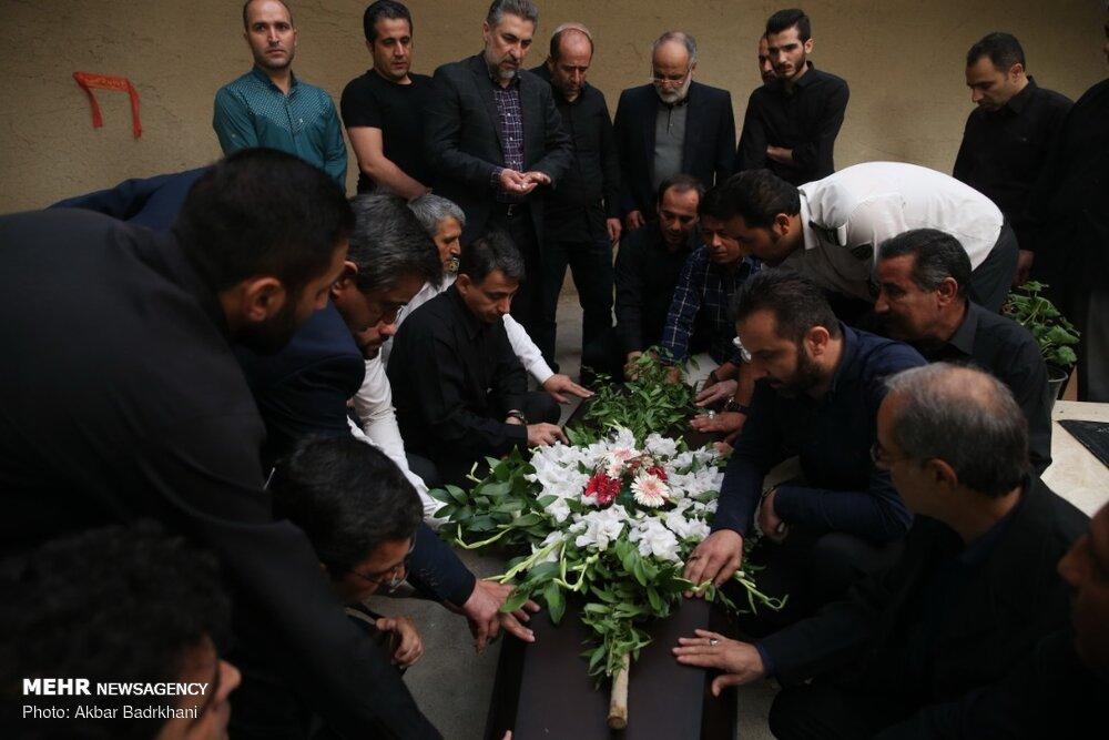 تشییع پیکر محمد عرفان استاد دانشگاه علوم پزشکی شهید بهشتی