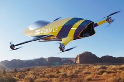 تولید هلیکوپتر ۸ پره مسابقهای با سرعت ۲۰۰ کیلومتر در ساعت