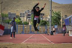 """البطولة الوطنية لألعاب القوى للفتيات في """"شهركرد"""" / صور"""