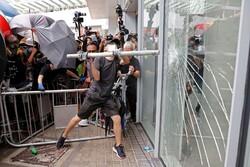 ئاژاوه لە هۆنگ کۆنگ