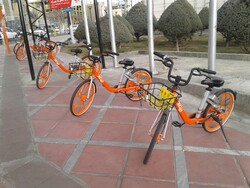 Over 50 bike sharing stations established in Tehran