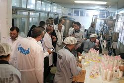 مدیران خبرگزاری مهر کشور ازشرکت تولیدی فیروز در قزوین بازدیدکردند