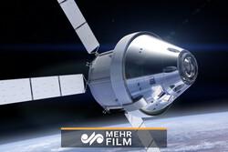 لحظه پرتاب کپسول ناسا به فضا