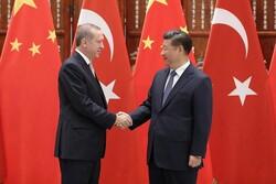 رؤسای جمهوری ترکیه و چین دیدار کردند