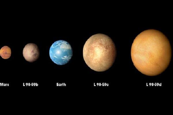 کشف سه سیاره مشابه ابعاد زمین توسط تلسکوپ فضایی تس