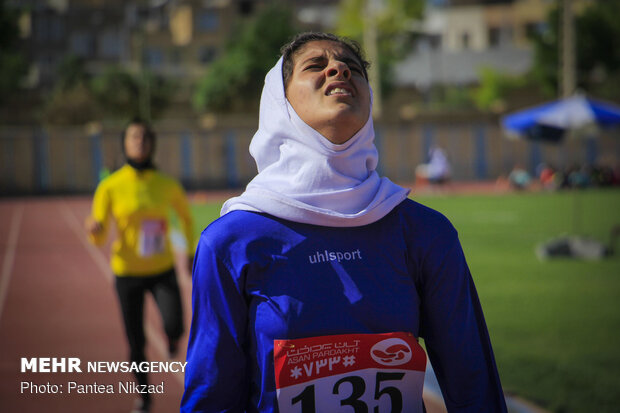 Nationwide U-23 track-and-field competitions in Shahr-e Kord