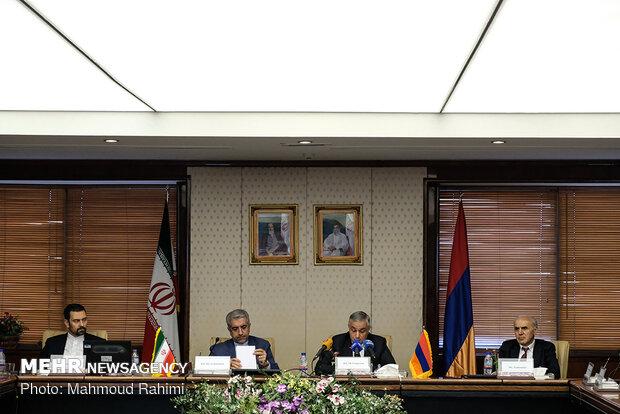 نشست پایانی شانزدهمین اجلاس کمیسیون مشترک اقتصادی و تجاری ایران و ارمنستان