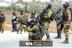 فیلمی از درگیری رژیم صهیونیستی با معترضان آفریقایی تبار در فلسطین