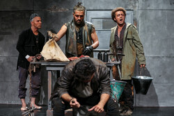 'Cronus' on stage in Tehran