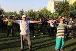 ورزش صبحگاهی و عصرگاهی در ۵۰ ایستگاه ورزشی قزوین برگزار می شود