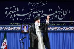 رہبر معظم انقلاب اسلامی سے حج اہلکاروں کی ملاقات