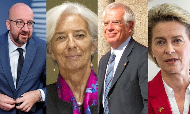 برسلز میں یورپین یونین کی قیادت کے 4 اعلی ترین عہدوں کا فیصلہ