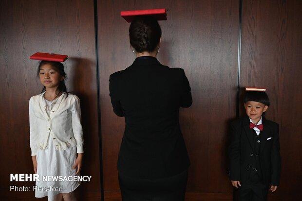 صفوف تعليم القواعد السلوكية في الصين