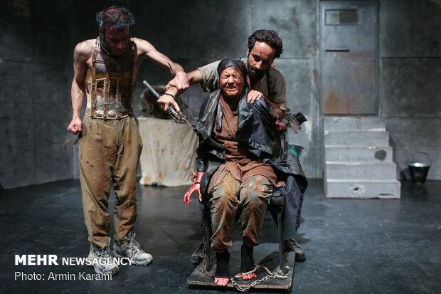 'Cronus' on stage in Tehran