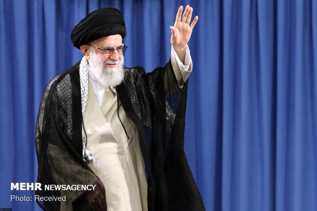 Ayatollah Khamenei's meeting with Hajj officials