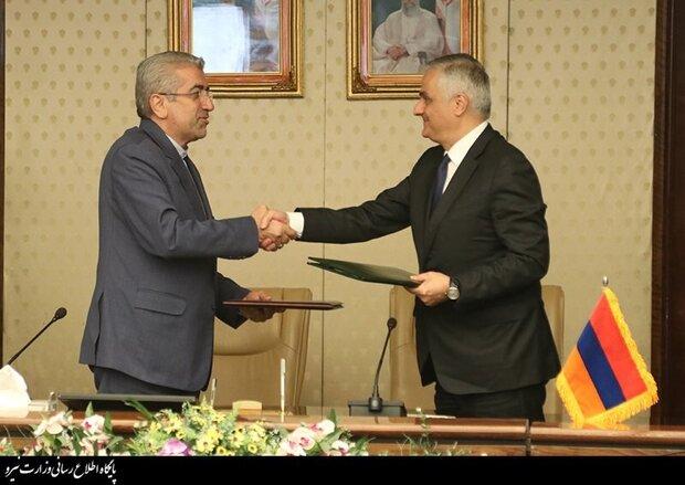 Iran, Armenia ink MOU on energy cooperation