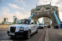 تاکسی های لندن پاکسازی می شوند
