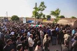 شہید اکبر مہدی زادہ کی تشییع جنازہ