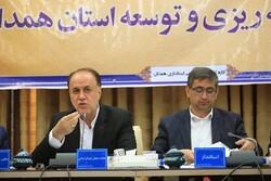 ۴۱ پروژه ملی در استان همدان در دست اجراست