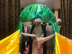 رواق رضوی در مصلی جمعه بوشهر افتتاح شد