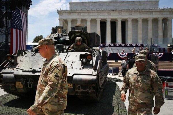 ارتش آمریکا: از حضور تانکها در خیابانهای پایتخت نترسید