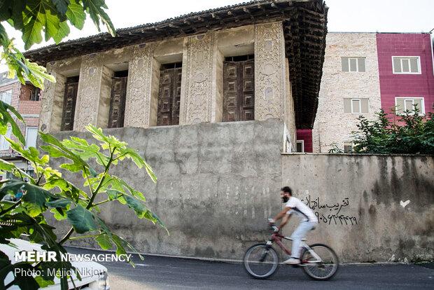 ویرانه های معماری مازندران
