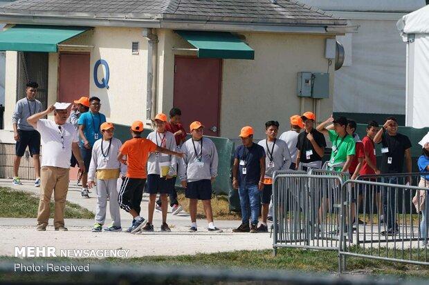 وضعیت نامناسب مراکز بازداشت پناهجویان در تگزاس آمریکا