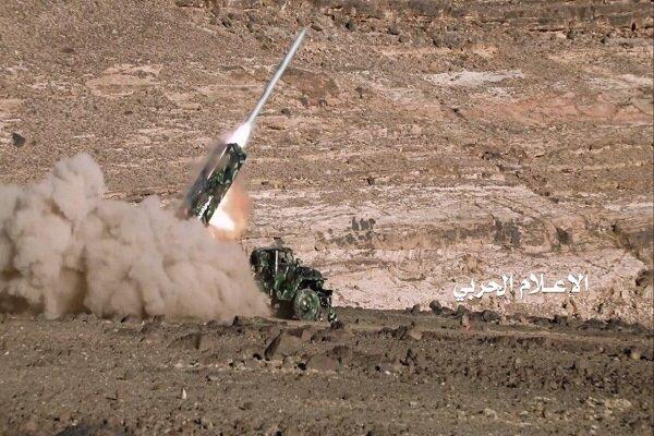 صاروخ باليستي يضرب معسكر سعودي في نجران