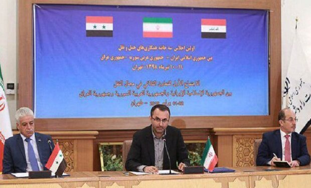Iran, Iraq, Syria agree to cooperate in domain of comprehensive transport