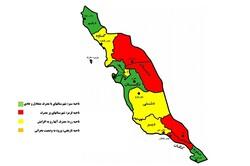 وضعیت برق مصرفی ۶ شهرستان استان بوشهر قرمز و زرد شد