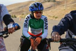 """Terbiz'de """"Kızlar Günü"""" münasebetiyle bisiklet yarışıması düzenlendi"""
