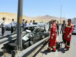 جاده یاسوج به اصفهان صدرنشین تصادفات فوتی کهگیلویه و بویراحمد